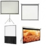 DELHI PROJECTOR SELF LOCK SCREENS AND MOTORIZED SCREENS