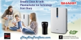 SHARP PLASMACLUSTER DELHI AIR PURIFIER